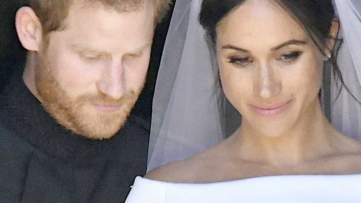 Meghan Markle, książę Harry ślub
