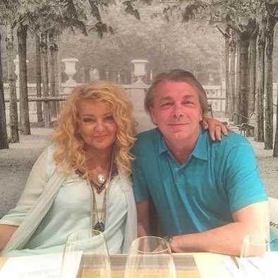 Magda Gessler z mężem - Instagram