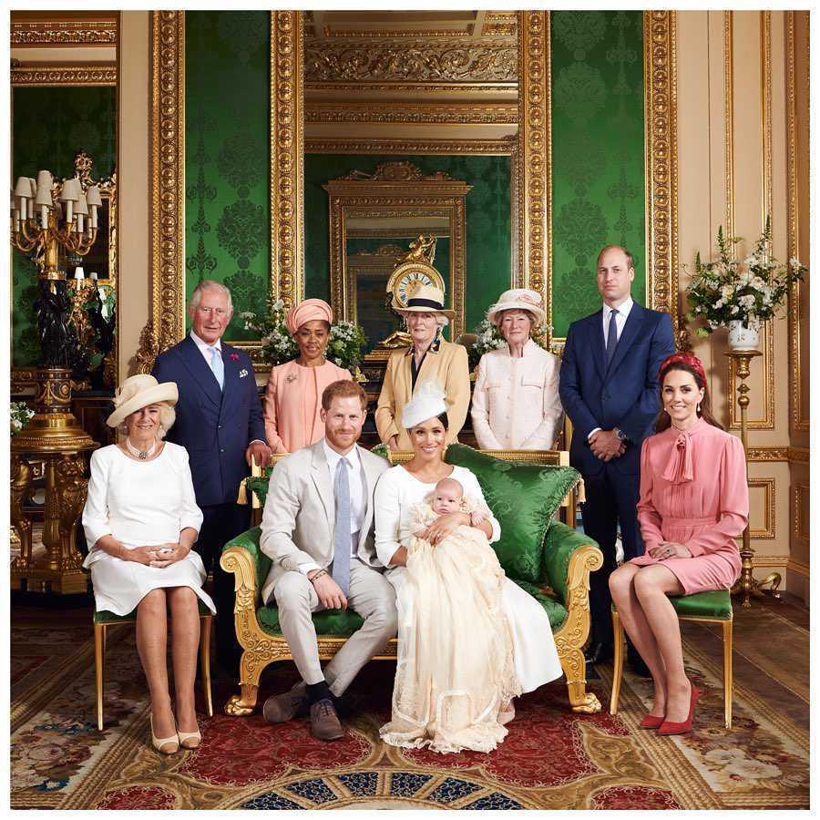 Syn księcia Harry'ego i Meghan Markle został ochrzczony w Windsorze