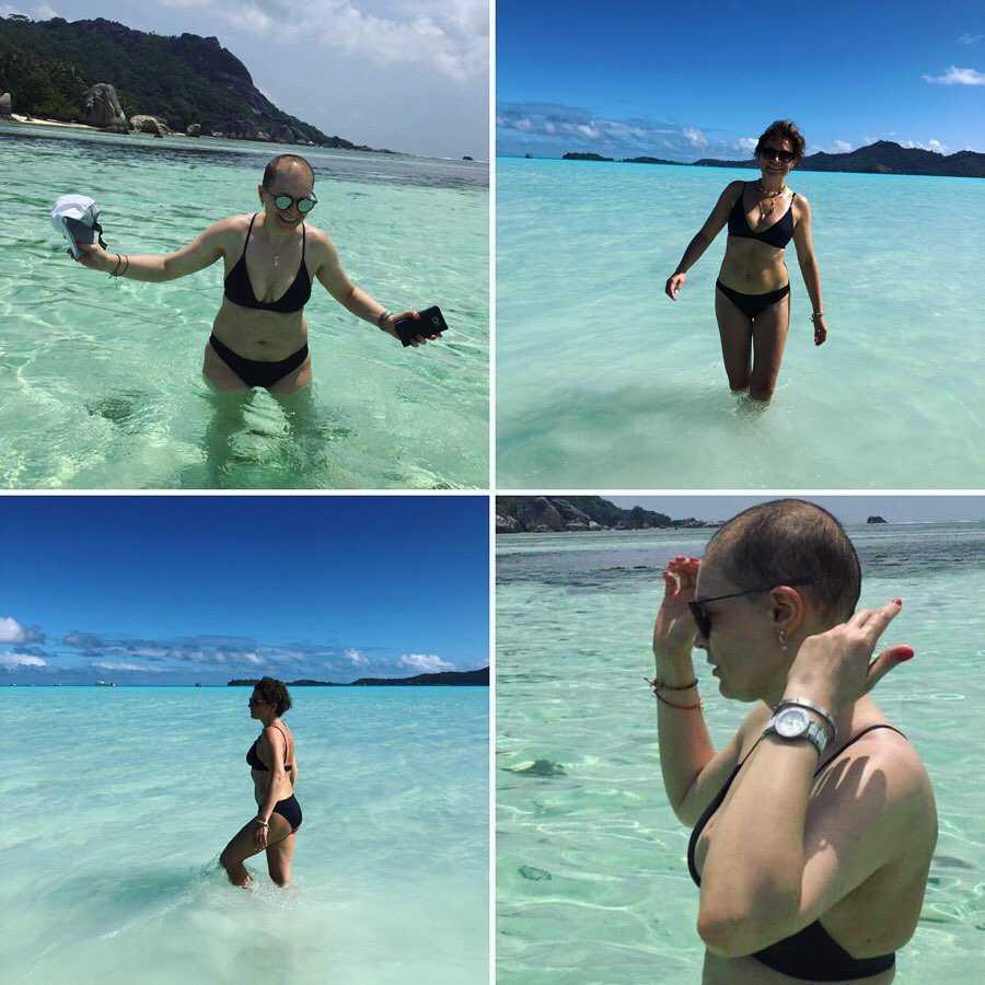 """Zdjęcie (1) Odważne zdjęcia Joanny Górskiej w bikini trafiły do sieci! Gwiazda pokazała, jak zmieniło się jej ciało: """"Leczenie wyniszczyło mój organizm"""""""
