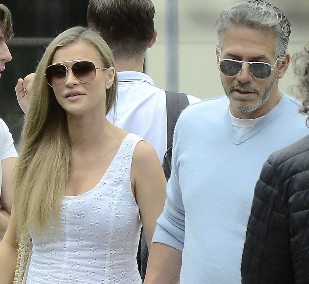 Joanna Krupa i Douglas Nunes w drodze na lunch