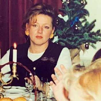 Magda Gessler w młodości