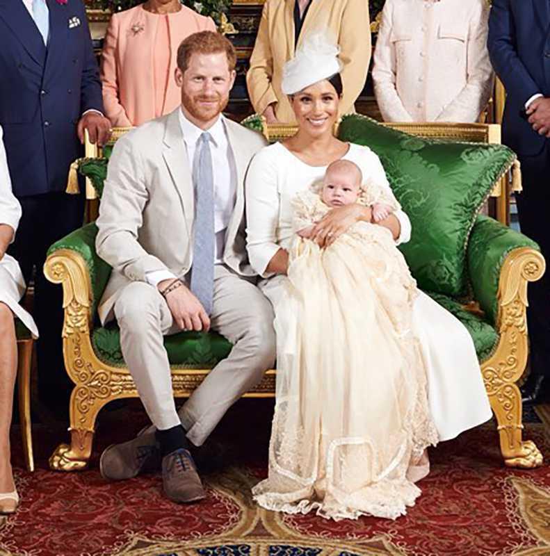 Meghan Markle książę Harry Archie Harrison chrzest