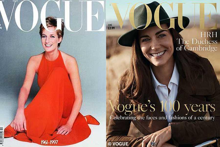 Vogue Diana Kate Middleton
