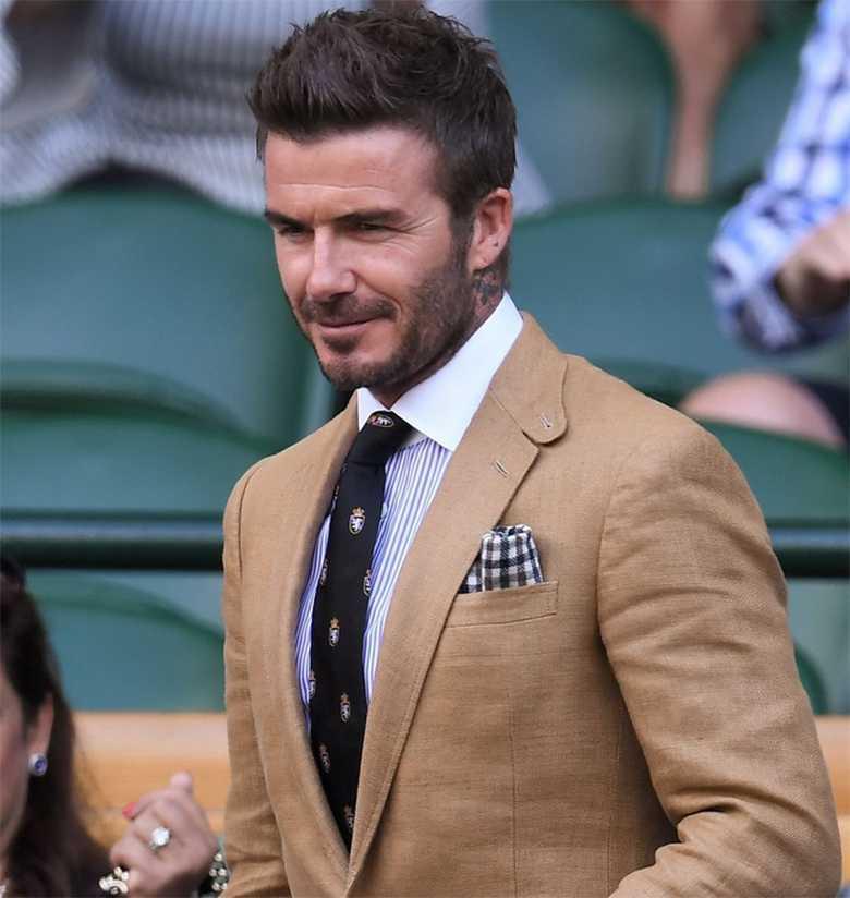 David Beckham - stylizacja