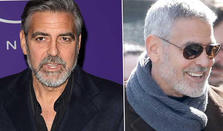 George Clooney - przed i po liftingu