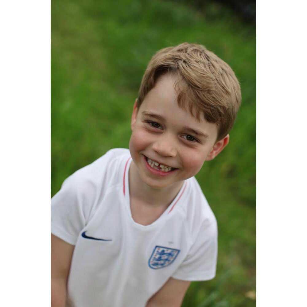 Książę George – portret z okazji 6 urodzin