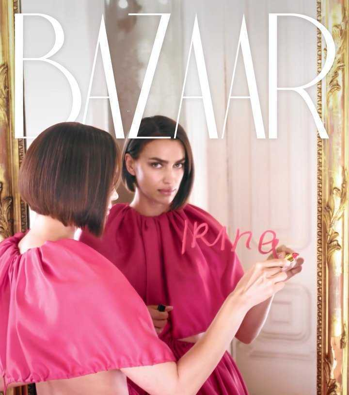 Irina Shayk w Harper's Bazaar na sierpień 2019