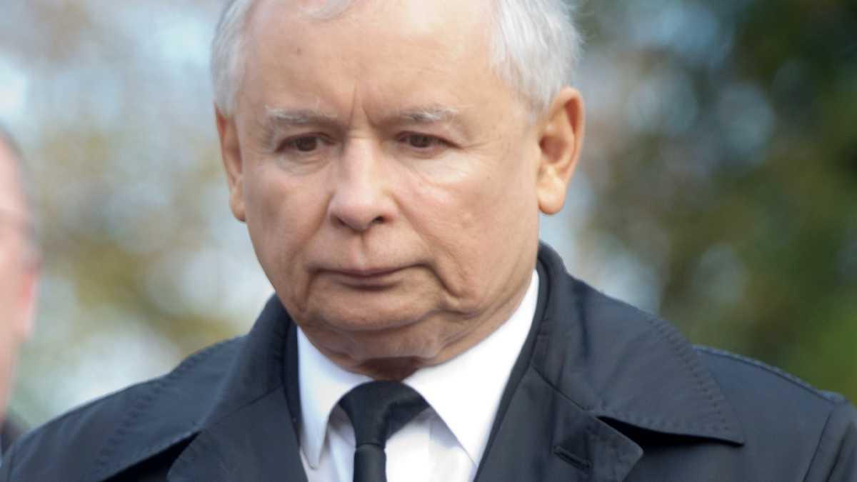 Jarosław Kaczyński żałoba