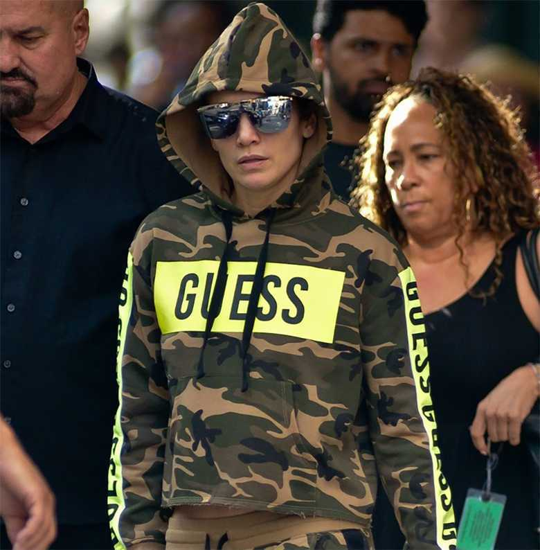 Jennifer Lopez nie przypomina siebie