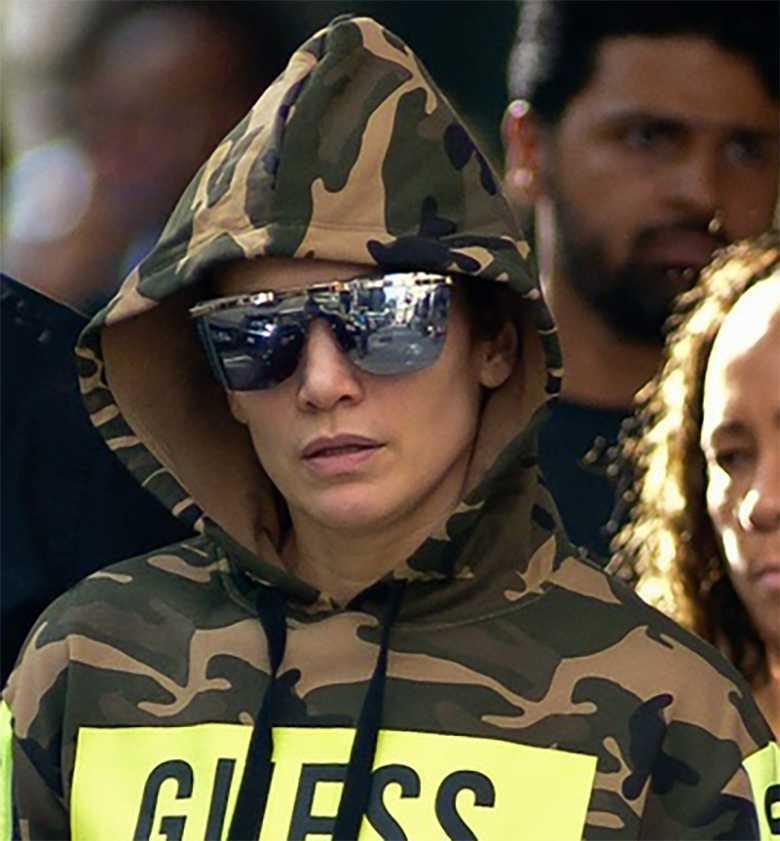 Jennifer Lopez nie wygląda jak seksbomba