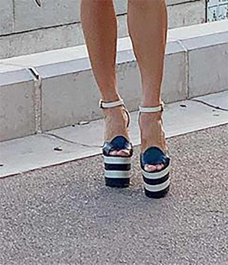 Malgorzata Rozenek - buty