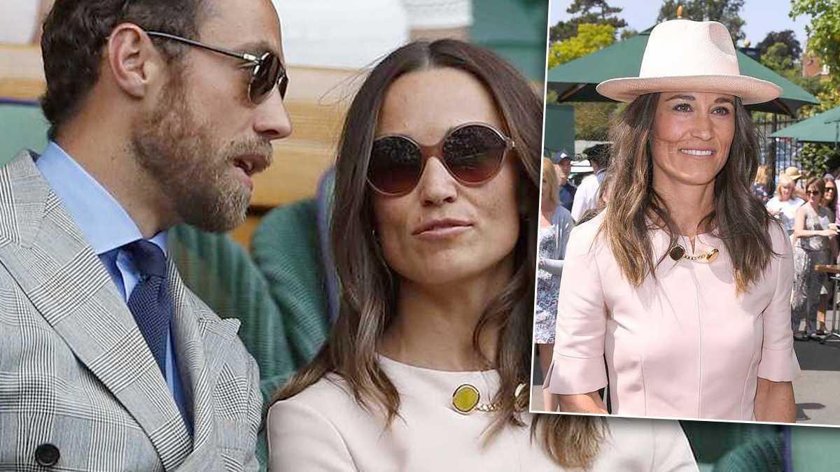 Pippa Middleton na Wimbledonie