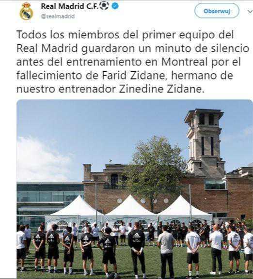 Zinedine Zidane stracił brata Faird Zidane