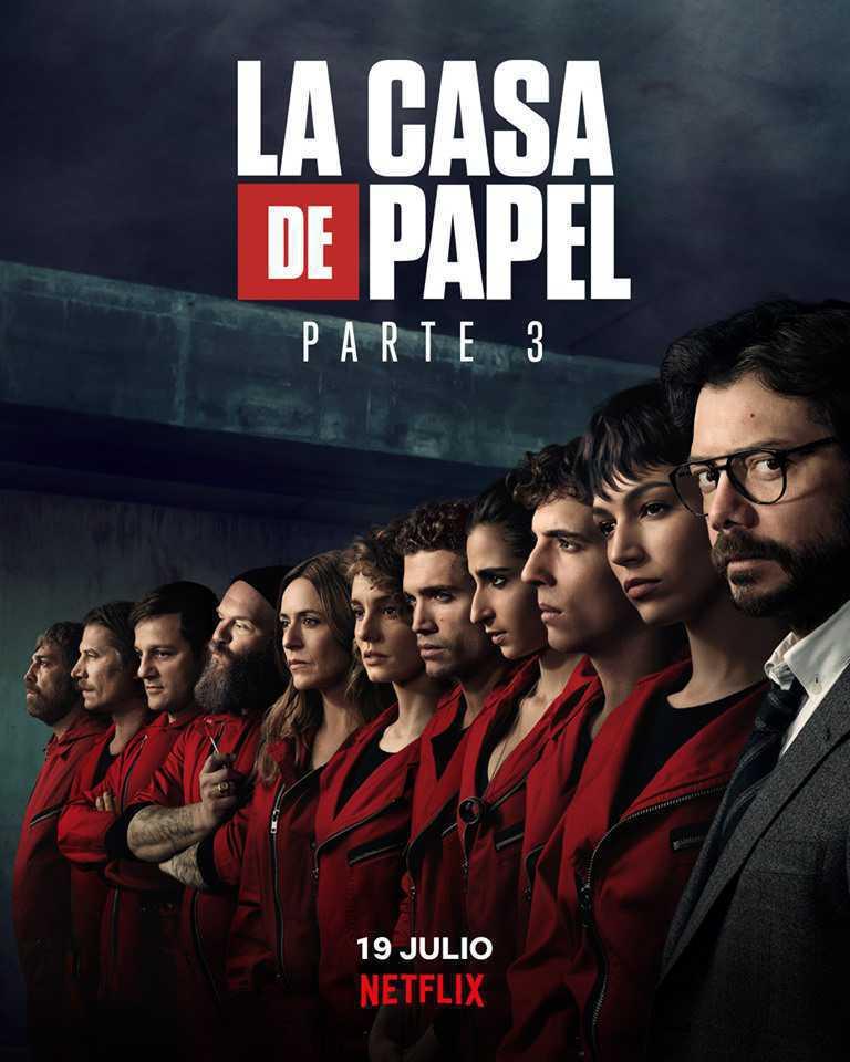Dom z papieru - serial Netflix