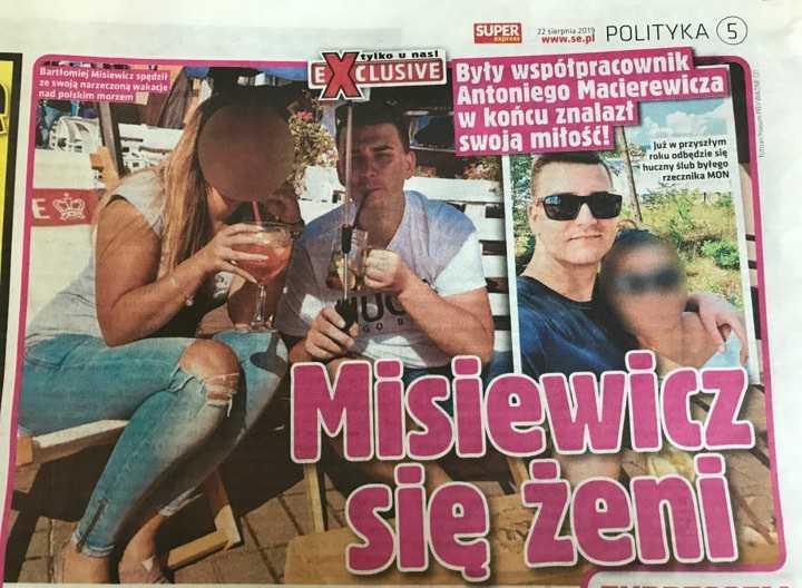 Bartłomiej Misiewicz bierze ślub! fot. Super Express