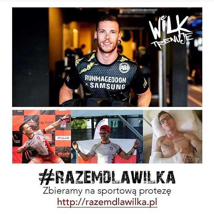 Sylwester Wilk - uczestnik pierwszej polskiej edycji Ninja Warrior Polska