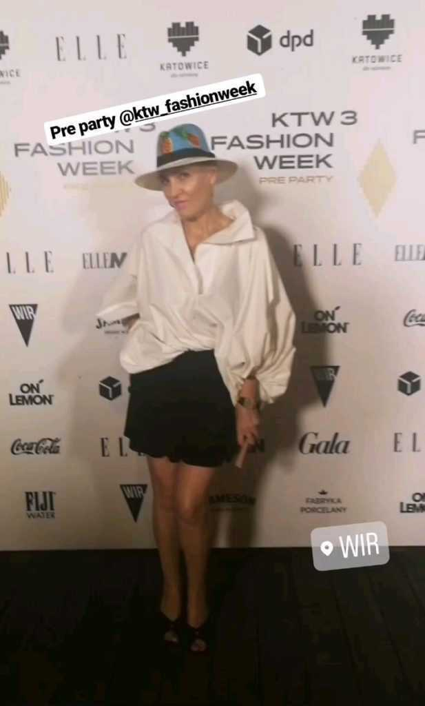 Anna Puślecka na Pre-Party KTW Fashion Week 2019