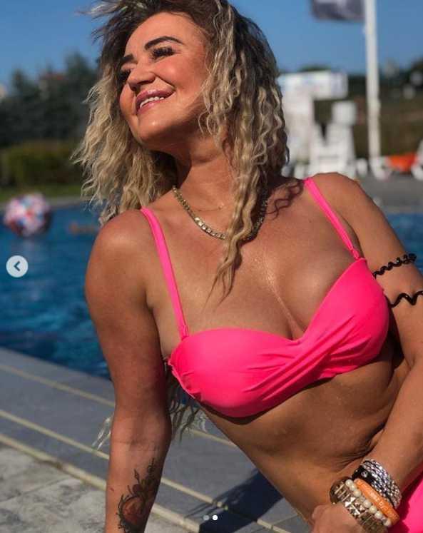 Agnieszka Kotońska w bikini - Instagram