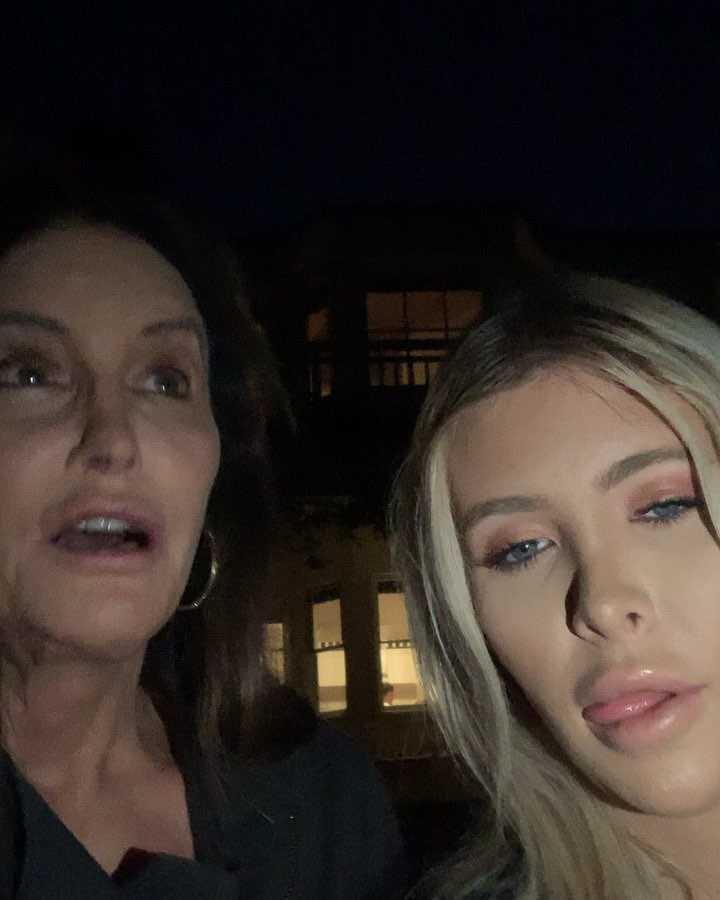 Caitlyn Jenner z partnerką