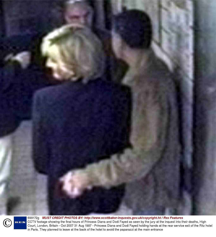 Księżna Diana i Dodi Al-Fayed w windzie – ostatnie zdjęcia pary