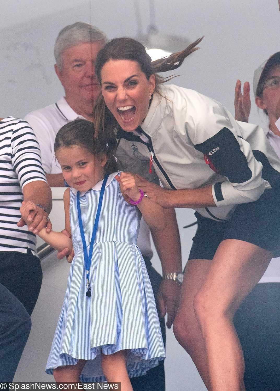 Księżniczka Charlotte pokazała język podczas królewskich regat w 2019 roku