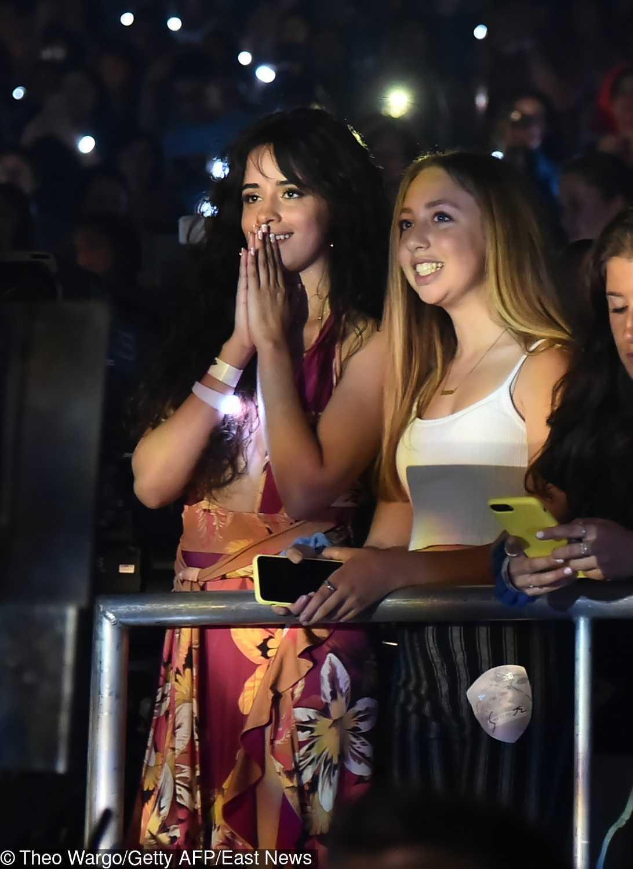 Camila Cabello na koncercie Shawna Medesa w Nowym Jorku