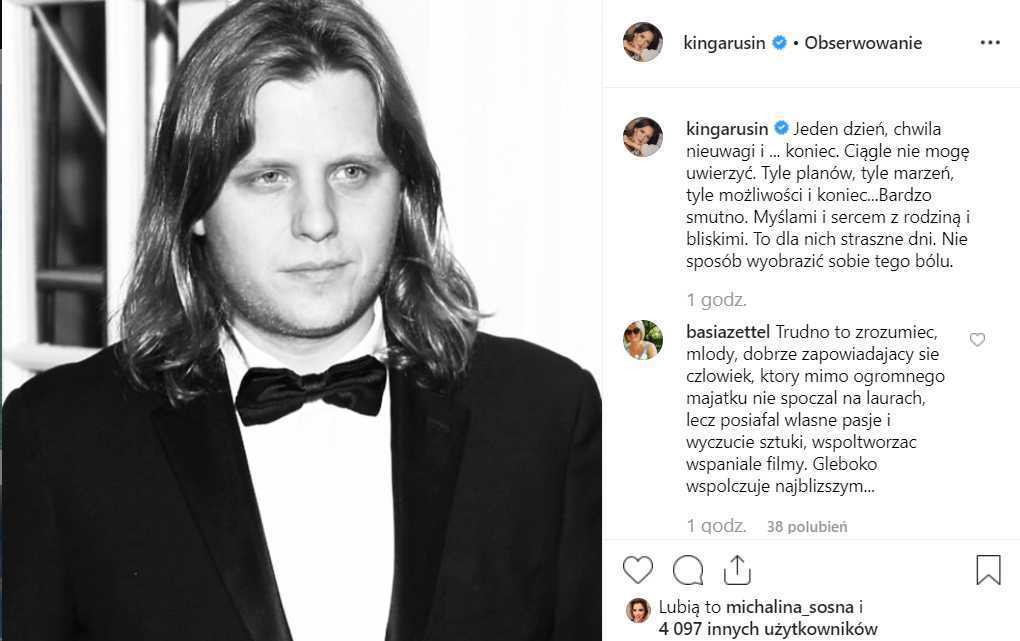 Internauci i Kinga Rusin żegnają Piotra Woźniaka-Staraka
