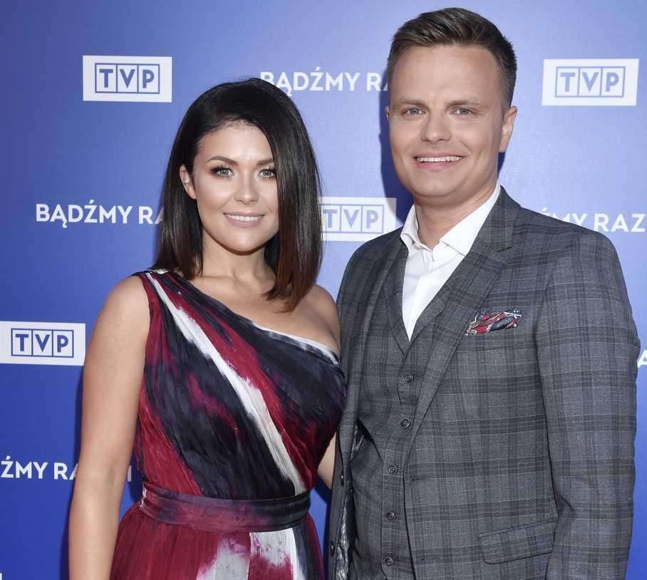 Kasia Cichopek z Marcinem Hakielem - jesienna ramówka TVP 2019