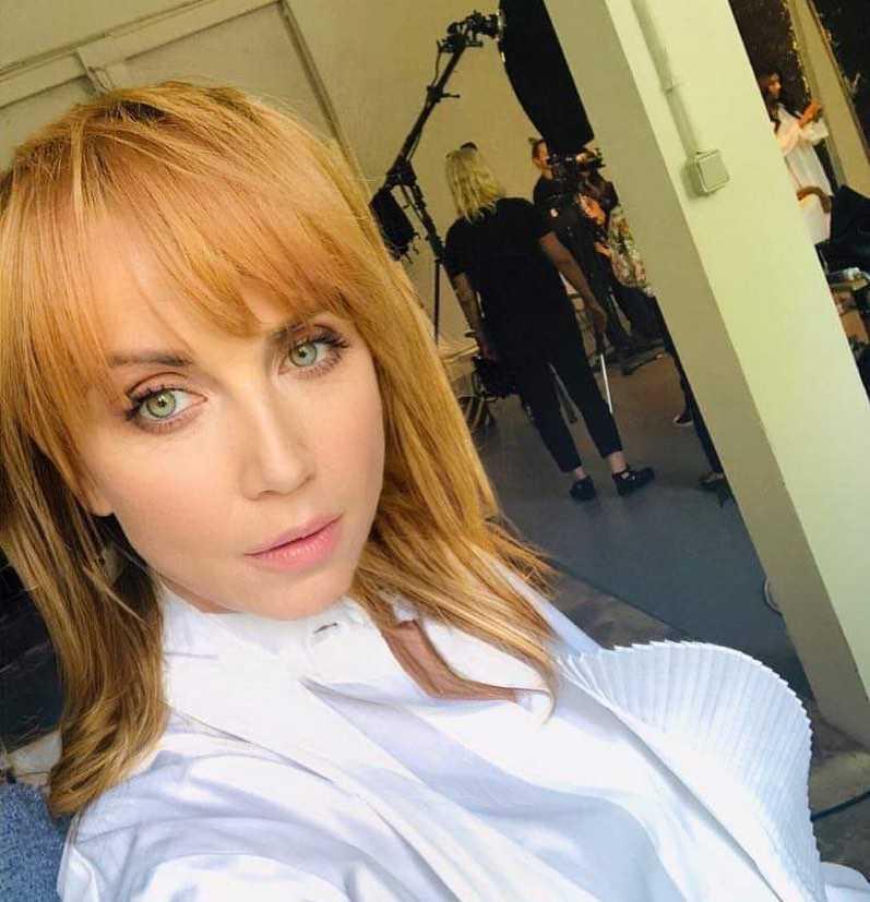 Katarzyna Zielińska w nowej fryzurze