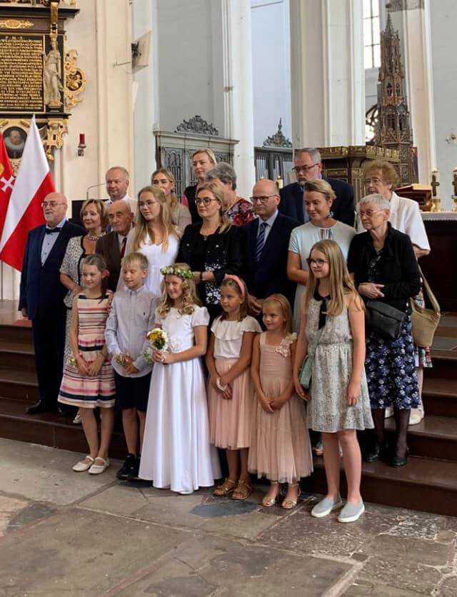 Magdalena Adamowicz - I Komunia Święta Teresy Adamowicz