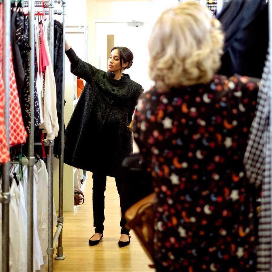 Meghan Markle została projektantką mody