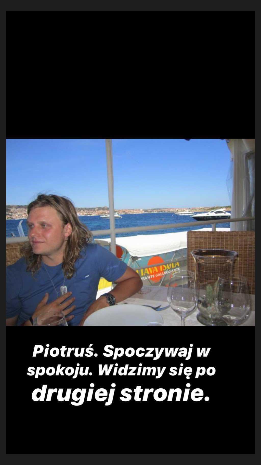 Natalia Klimas pokazała zdjęcia Piotra Woźniaka-Staraka