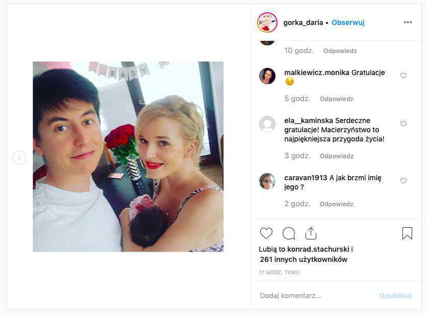 Daria Górka urodziła