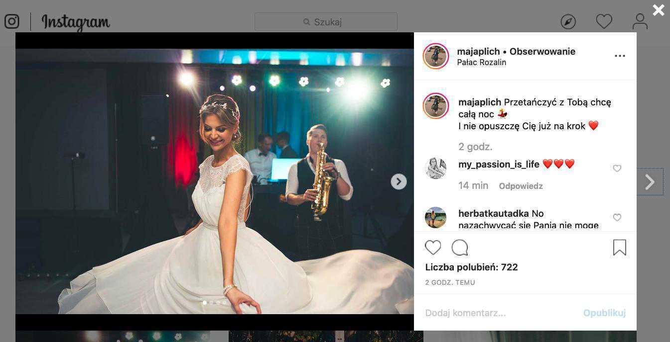 Maja Pilch pokazała zdjęcia z wesela