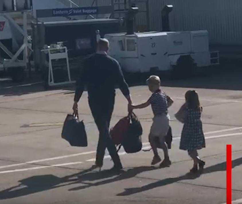 Książę William z dziećmi latają tanimi liniami