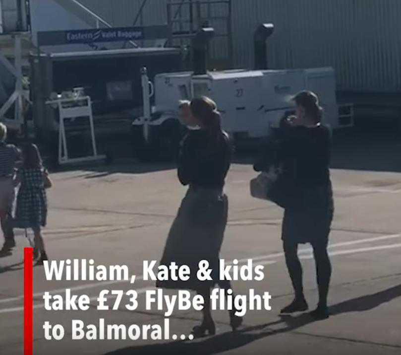 Księżna Kate z nianią latają tanimi liniami