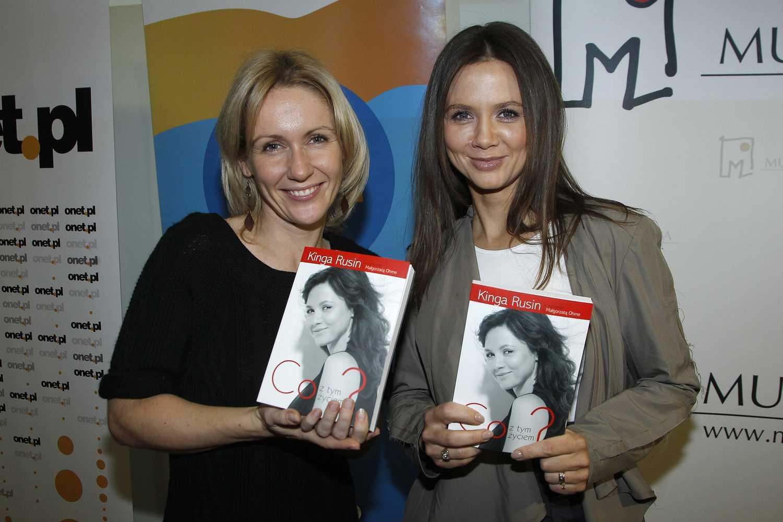 Kinga Rusin i Małgorzata Ohme wydały wspólną książkę