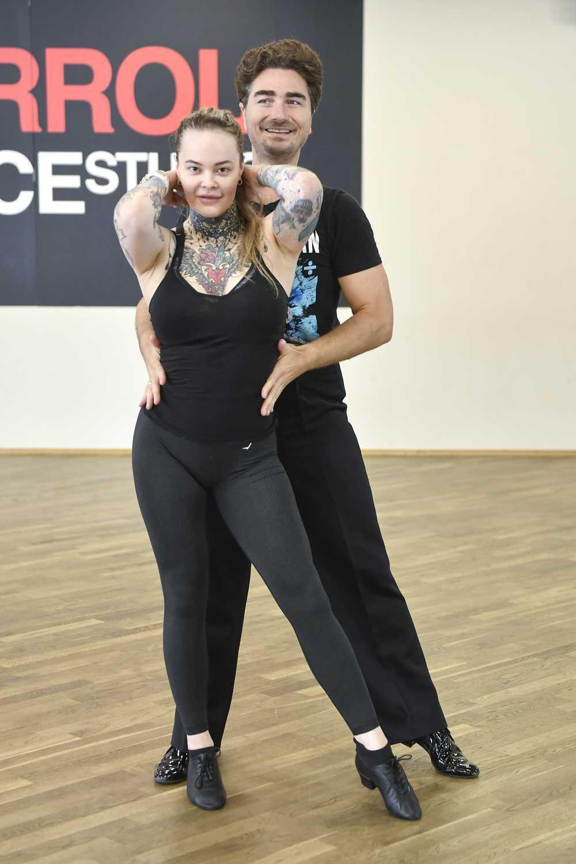 Monika Miller i Jan Kliment na treningu przed Tańcem z gwiazdami