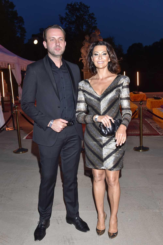 Anna Popek z partnerem