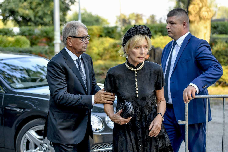 Jerzy Starak, Anna Woźniak-Starak – pogrzeb Piotra Woźniaka-Staraka