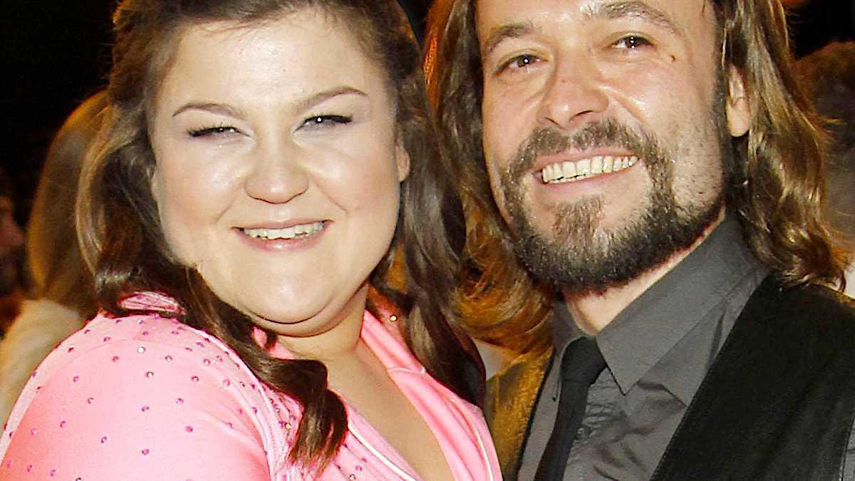 Dominika Gwit z mężem. Wojciech Dunaszewski