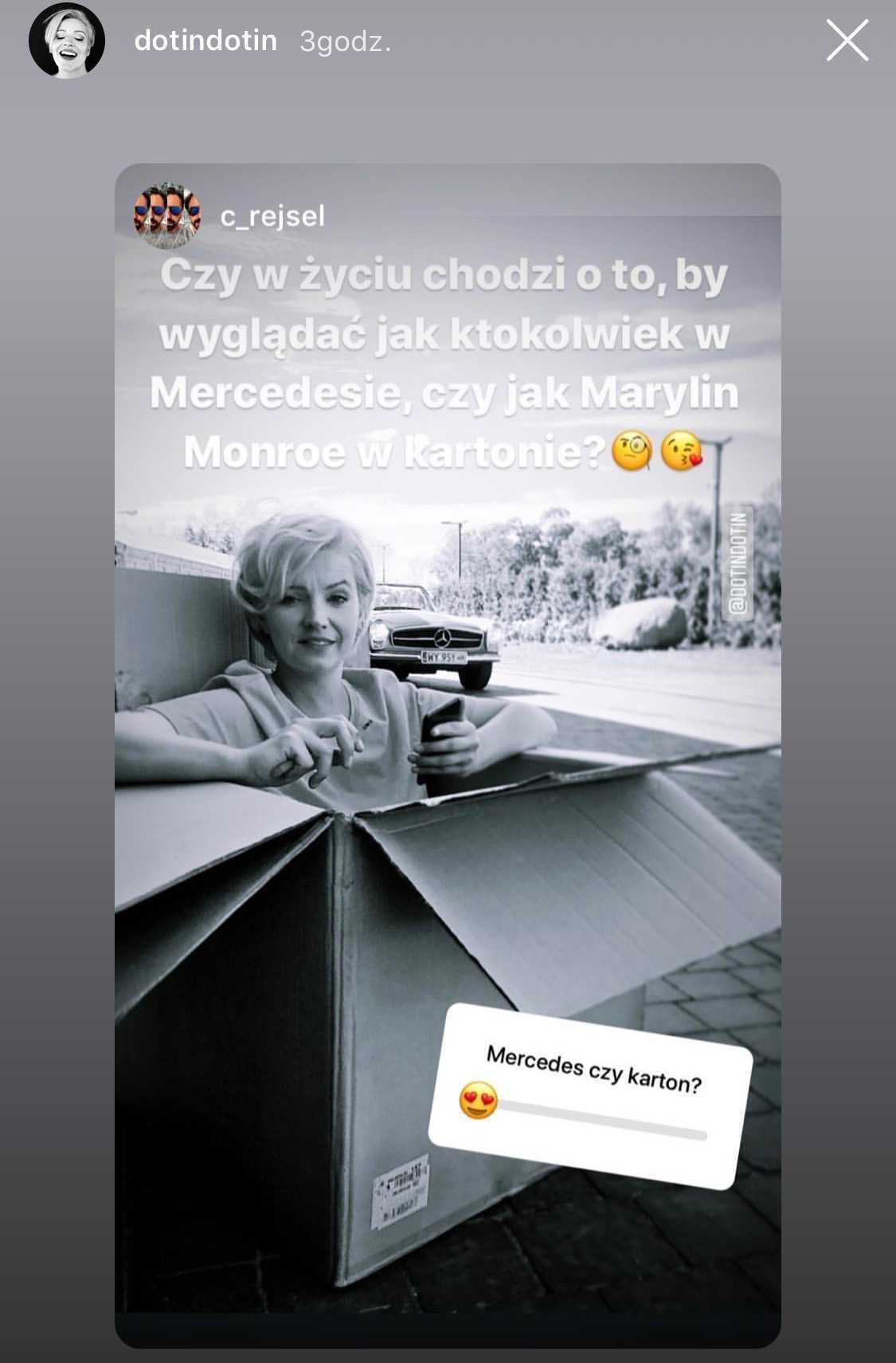 Dorota Szelągowska jak Marilyn Monroe
