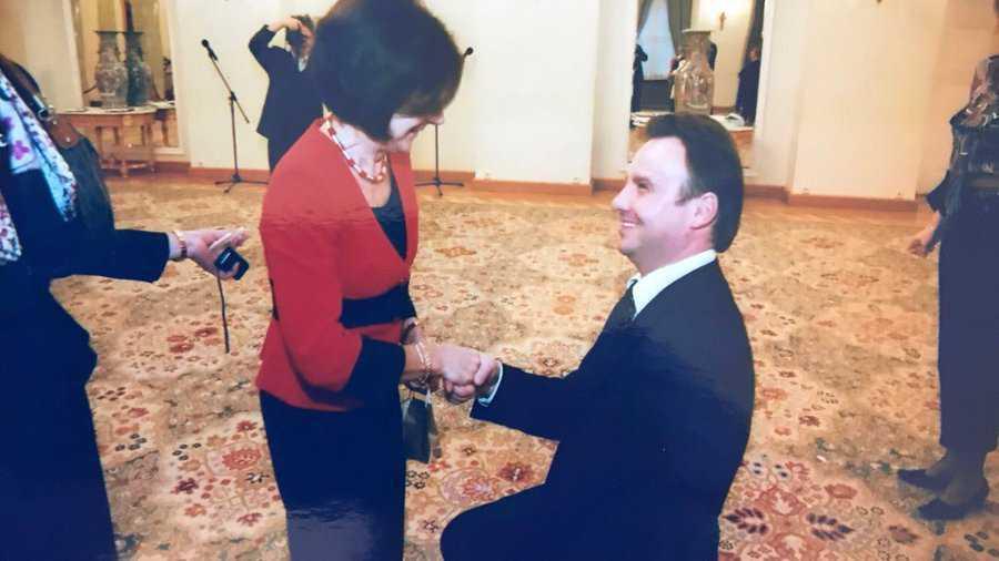 Andrzej Duda i Maria Kaczyńska na jednej fotografii