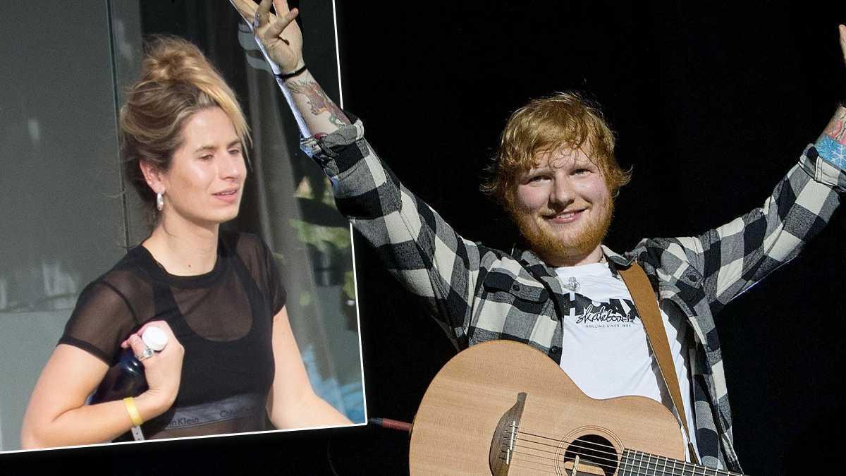 Ed Sheeran żona