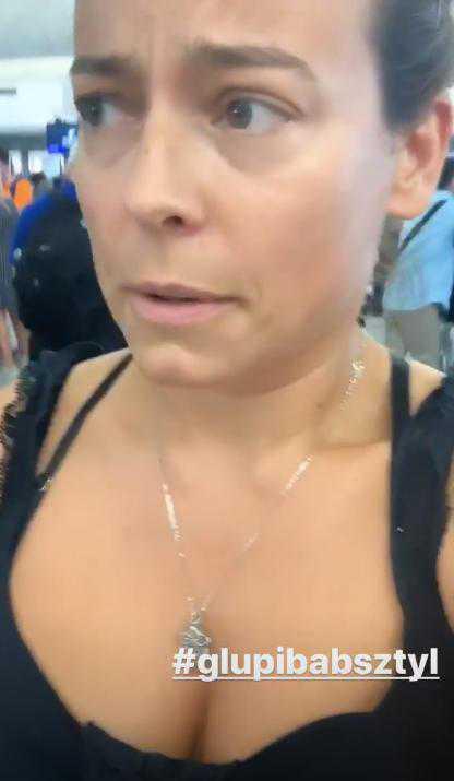 Anna Mucha utknęła na lotnisku w Hong Kongu