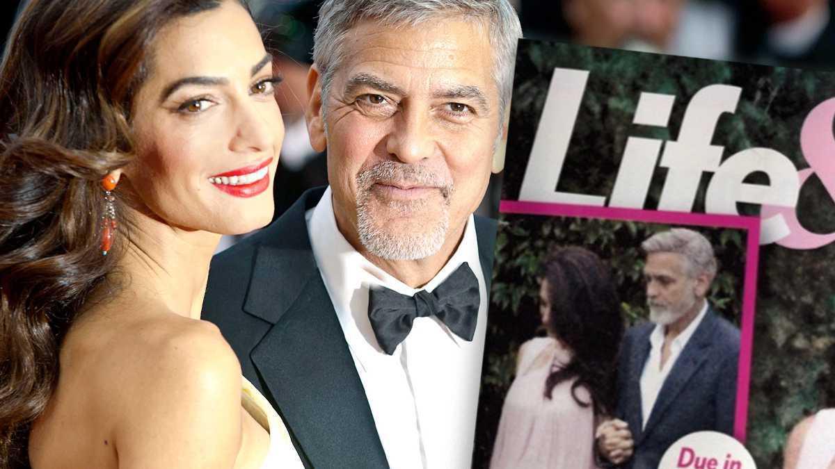 Amal Clooney w drugiej ciąży