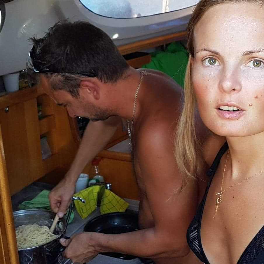 Grzegorz Zawierucha z żoną