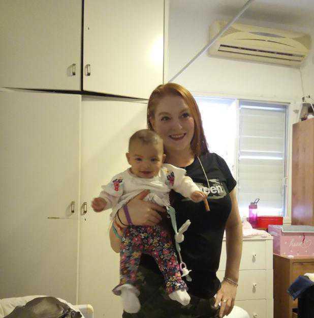 Josephine Gillan z córką