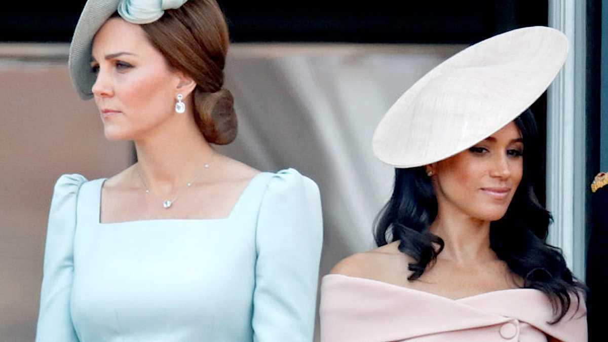 Księżna Kate i Meghan Markle konflikt